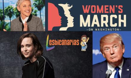 Trump presidente, Ellen Page escuchando y Ellen DeGeneres comunicando