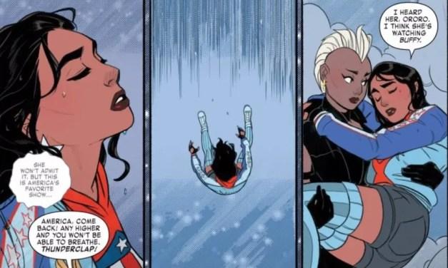 America 3: Highway to the danger room – cómics lésbicos