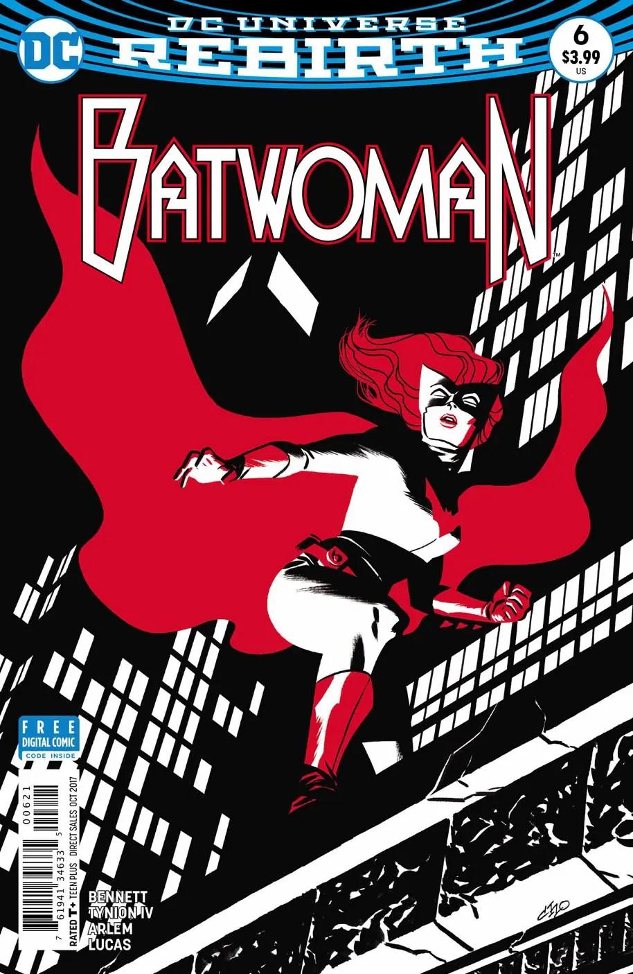 Batwoman 6 portada