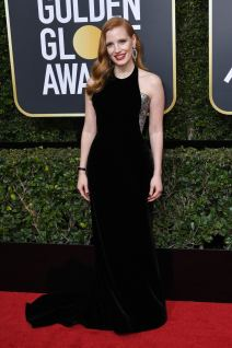 Mandatory Credit: Photo by Rob Latour/REX/Shutterstock (9307694fg) Jessica Chastain 75th Annual Golden Globe Awards, Arrivals, Los Angeles, USA - 07 Jan 2018