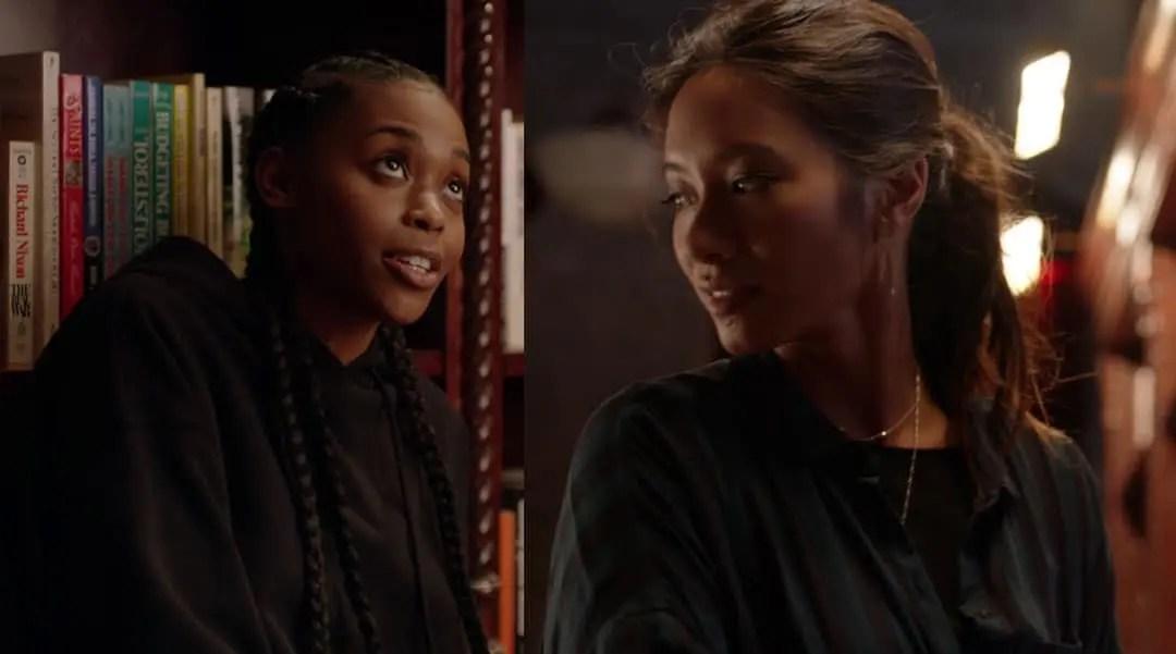 Anissa y Grace en Black Lightning