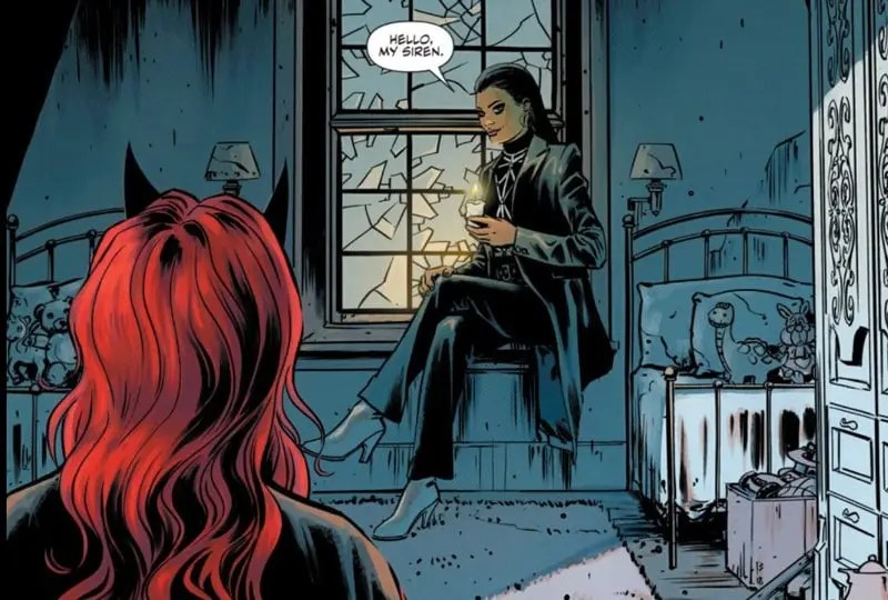 Batwoman y Safiyah se encuentran en la casa