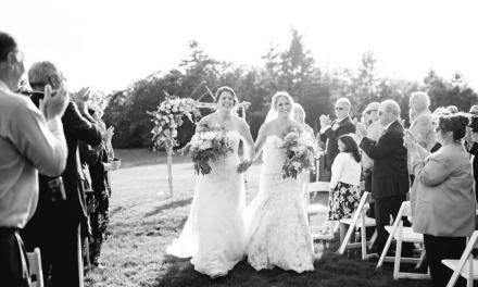 Dos jugadoras rivales de hockey femenino se casaron