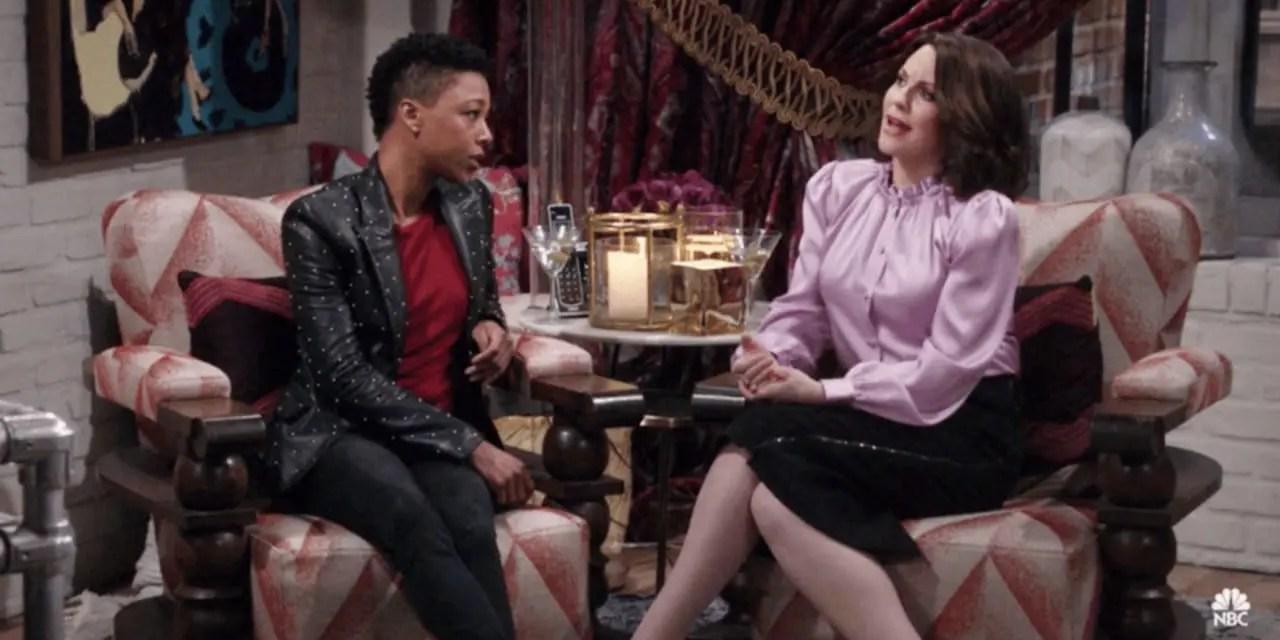 Samira Wiley llega a Will & Grace para confirmar la bisexualidad de Karen