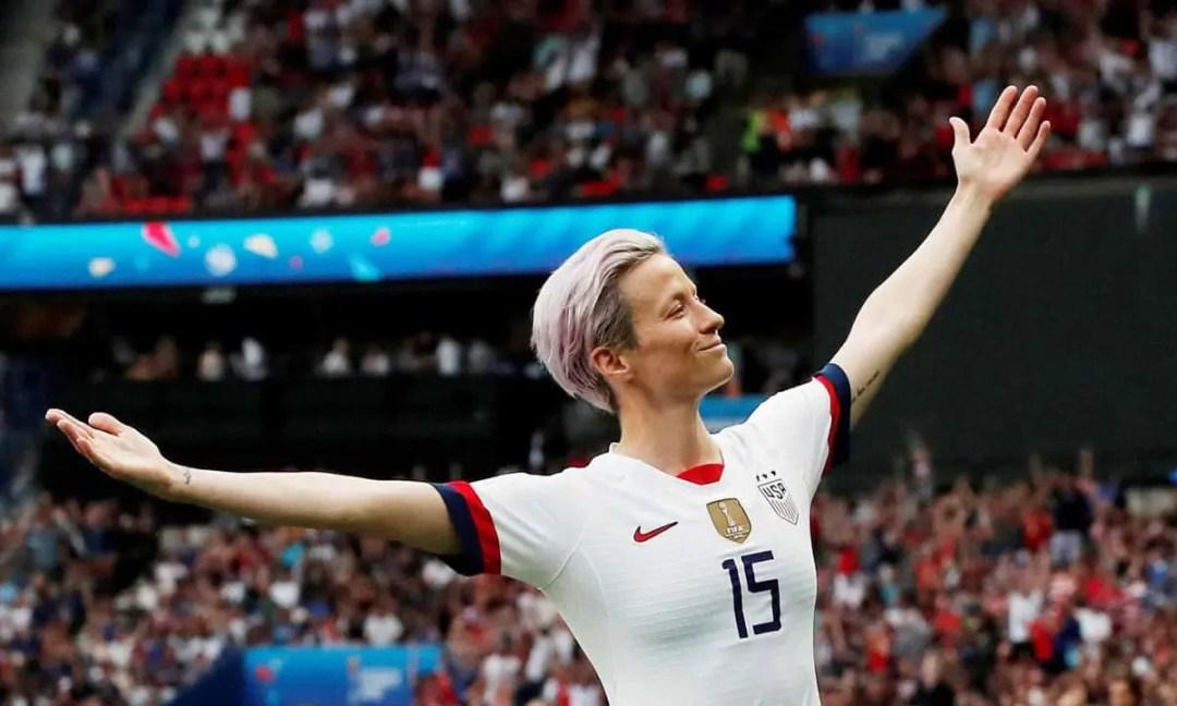 Megan Rapinoe Copa del Mundo 2019