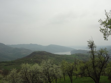 Vue au sommet de la colline, un détour plutôt mémorable!