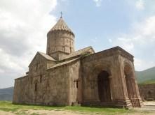Le magnifique monastère de Tatev, un bijou mérité après une interminable montée sur une route exécrable