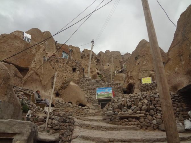 Visite du village de Kandôvan en compagnie d'Ali et Neda.