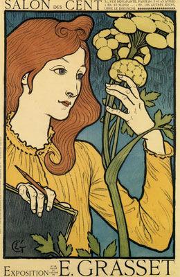 Poster for Salon des Cent, 1894