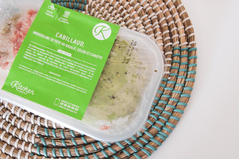 Plat préparé cabillaud Kitchendaily