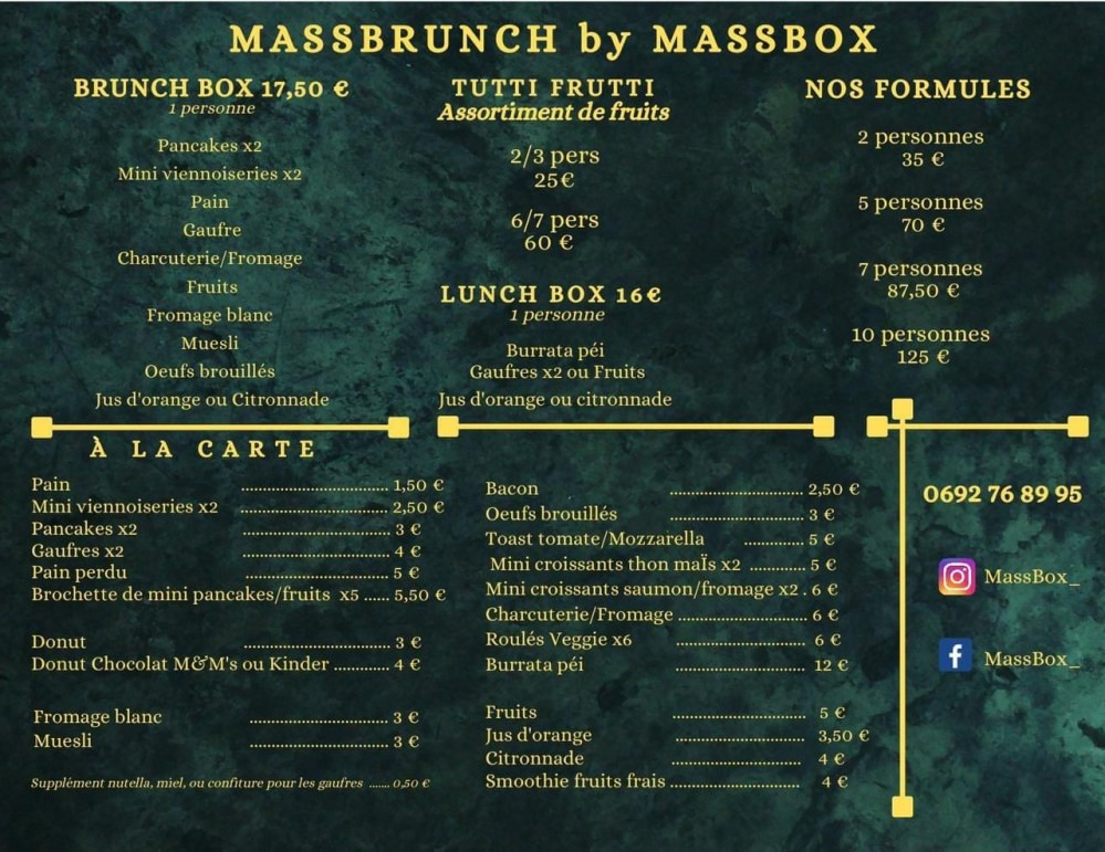 massbrunch massbox