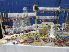 Kiosque Les bOules d'Oreilles - Marché de Noël d'Antan à Cap-Santé 19e édition