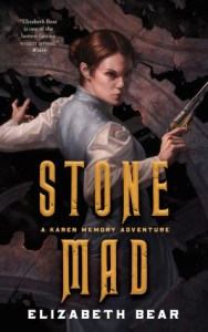 Stone Mad by Karen Memory cover