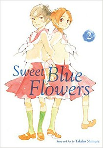 Sweet Blue Flowers Volume Two by Takako Shimura cover