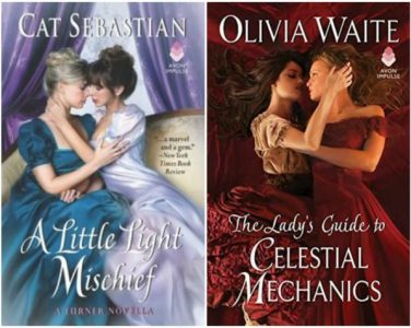 The covers of Maggie's picks