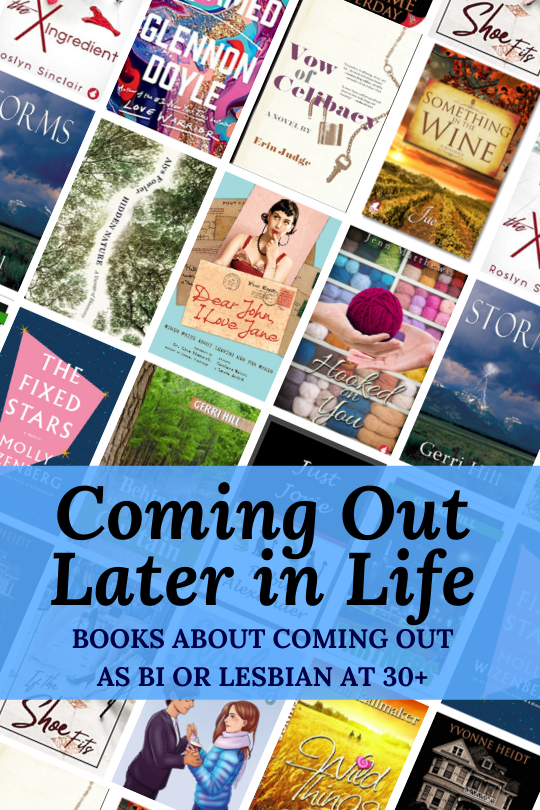Coming Out Later in Life cover collage