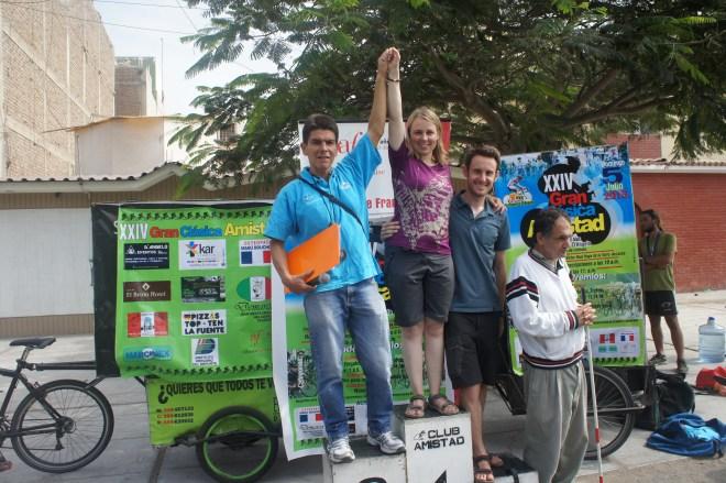 Première course cycliste internationale