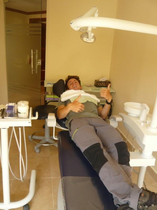 Un jour comme les autres à La Paz : chez le dentiste!