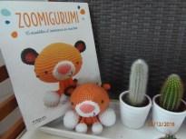 Roary le tigre d'après le livre Zoomigurumi