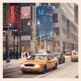 Les taxis jaunes de NYC