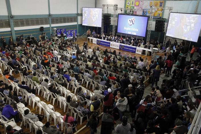Les assemblées de district (ou région) réunissent les mandataires des quartiers, réalisent la synthèse des demandes et préparent les projets pour la COP. // Photo: Ivo Gonçalves / PMPA