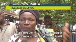 Budget participatif | sud kivu | Congo | film