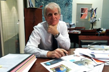 PatricK Braouezec, président de Plaine Commune, à Saint-Denis