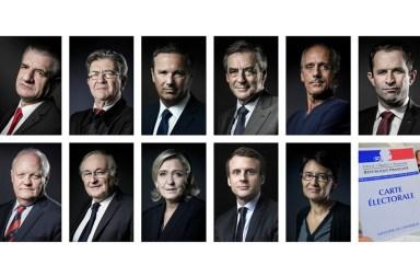 Les candidats à l'élection présidentielles 2017 et le budget participatif
