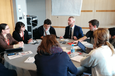 Atelier inclusion et budget participatif aux Rencontres nationales de la participation à Lille, le 7 mars dernier