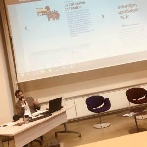 Antoine Bézard, fondateur de lesbudgetsparticipatifs.fr intervention sur les budgets participatifs à l'IAE de Poitiers