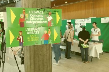 Lors du Forum des idées en 2018 à Grenoble