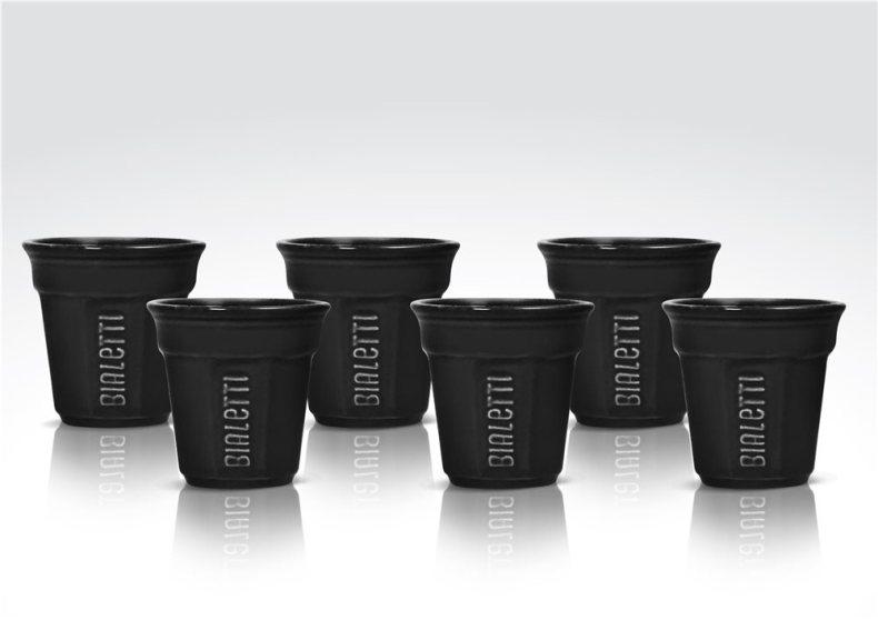 Tasses noires Bialetti