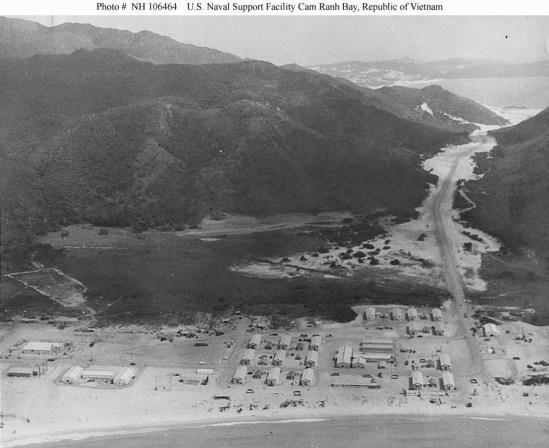 La base de Cam Ranh pendant la guerre du Vietnam