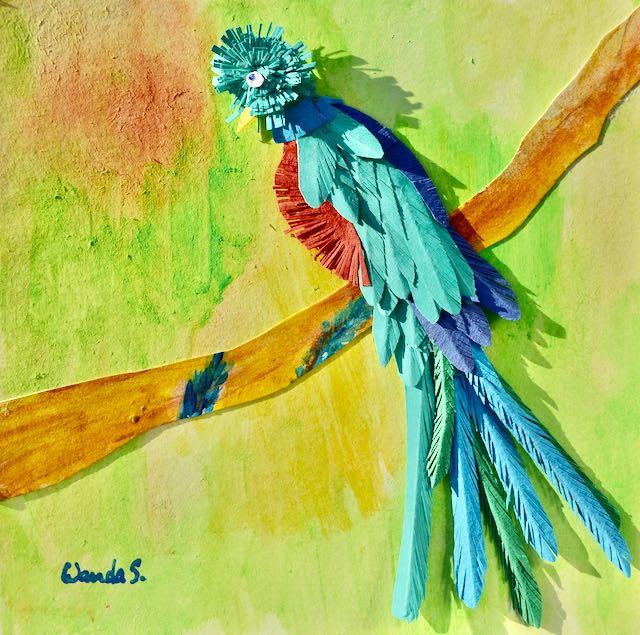Kirigami - Quetzal - Wanda S - 2020