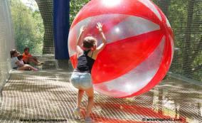 des ballons géants