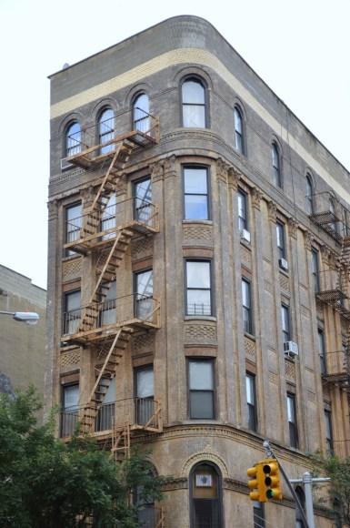 Building à Nolita dans les rues de New York