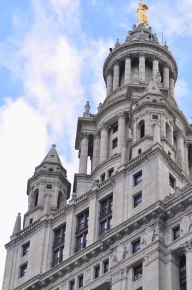 Batiment dans le quartier cu City Hall de New York