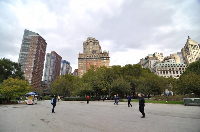 Battery Park à New York