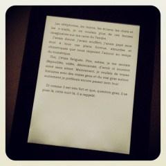 Hier j'ai commencé un nouveau livre !