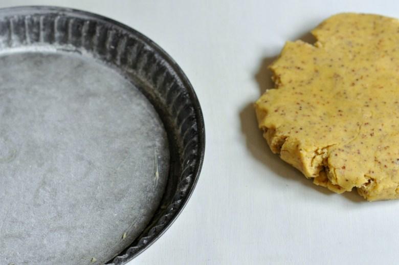 Pâte à tarte à la moutarde à l'ancienne