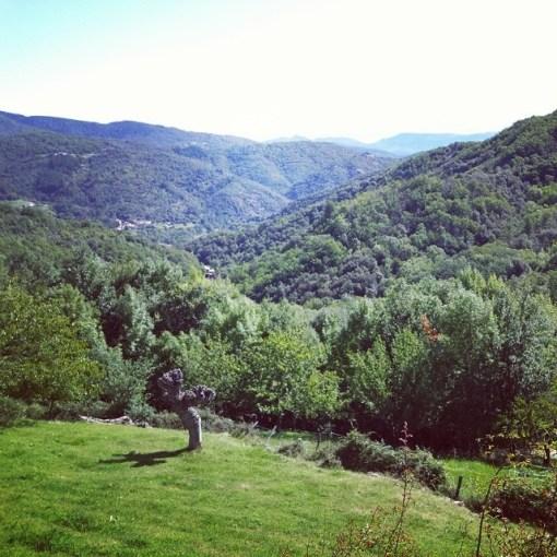 Vue en Ardèche