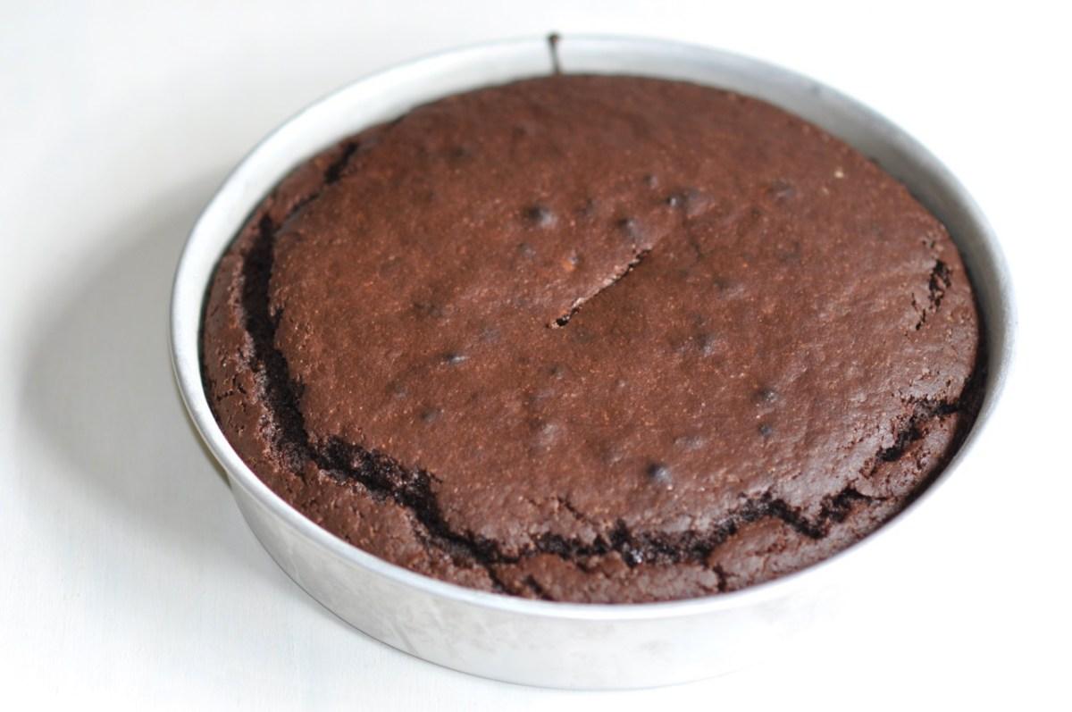Gâteau rapide au chocolat et à la châtaigne