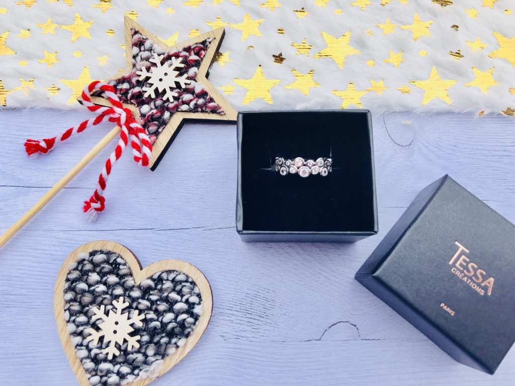 blogueuse lyonnaise Bague Nausicaa Tessa Création les Carnets d'une Quadra