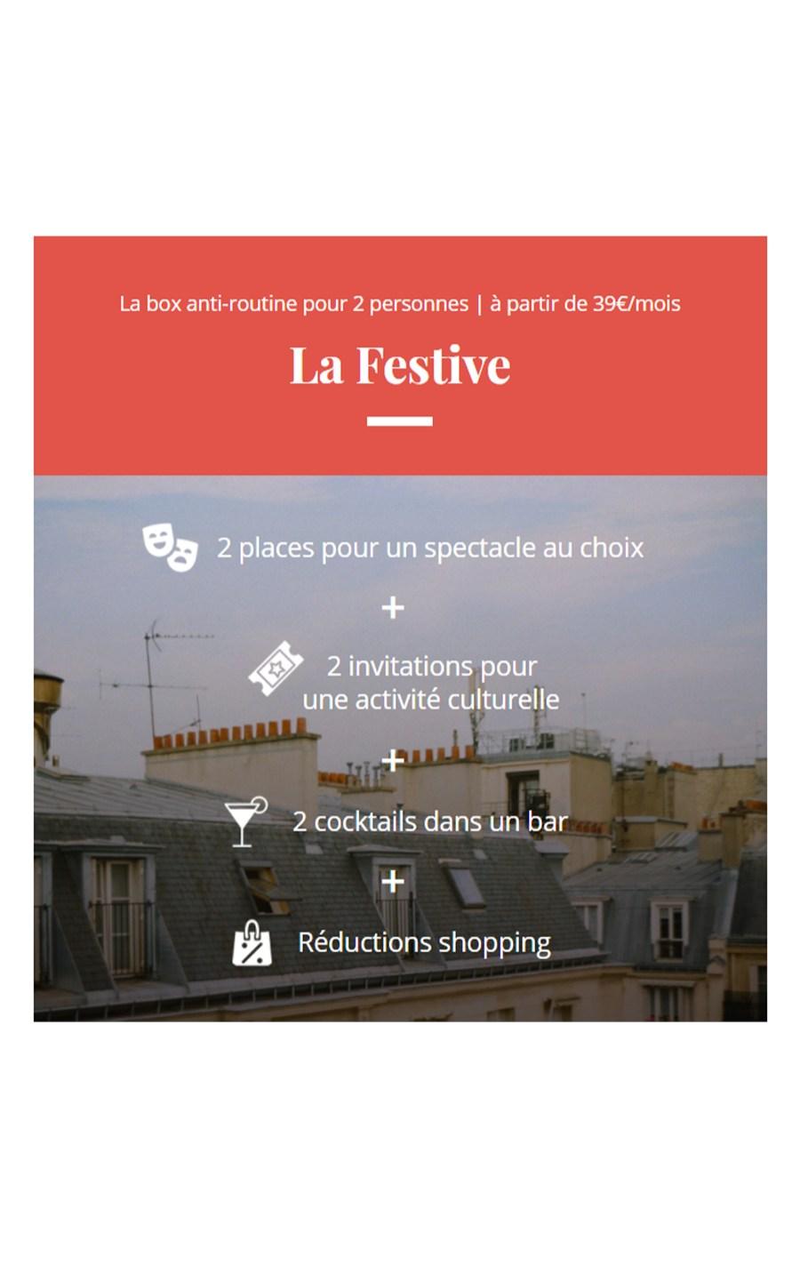 box Oopsie Lyon Paris