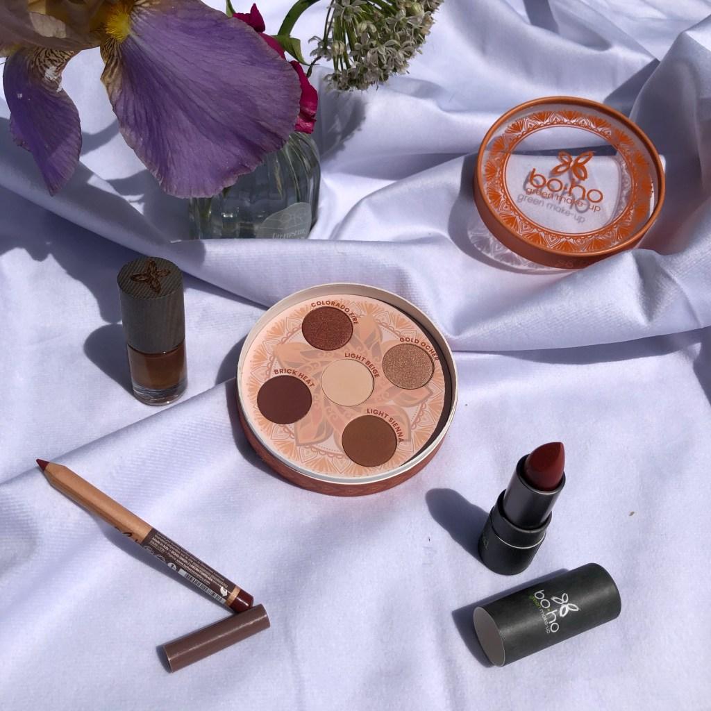 boho green make up