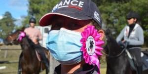 Les Cavalières contre le Cancer - Epreuve Rose 2020 aux Haras de Kéos (Touraine)