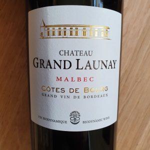 Château Grand Launay 100% Malbec – Côtes de Bourg 2019