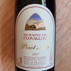 Domaine de Clovallon Pinot Noir – 2019