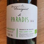Le Paradis du Domaine de Bonaguil – Chardonnay 2018