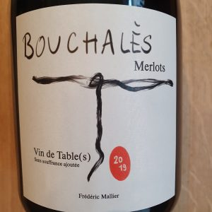 Bouchalès Merlots du Château de la Vieille Chapelle – 2019